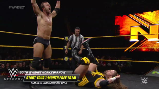 Kassius Ohno vs. Adam Cole: WWE NXT, March 21, 2018