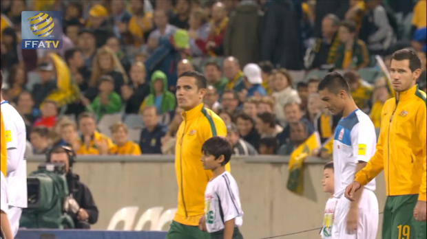 FFA TV | Meredith thrilled with Socceroos debut