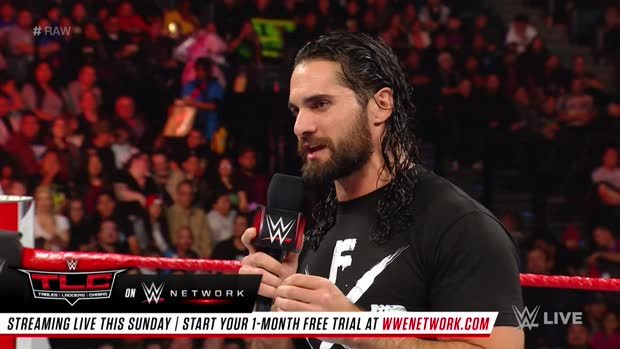 Seth Rollins on what's wrong with Monday Night Raw: Raw, Dec. 10, 2018