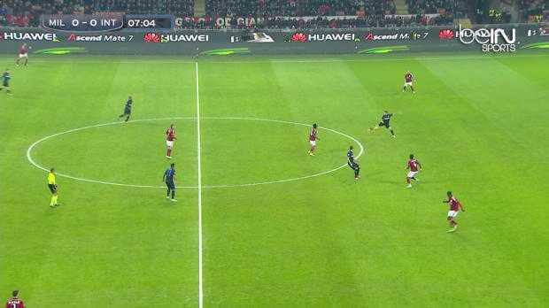 Serie A : AC Milan 1-1 Inter Milan