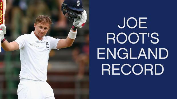 Joe Root's England record