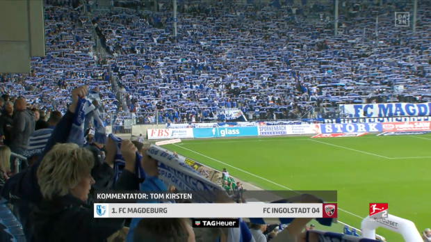 2. Bundesliga: 1. FC Magdeburg - FC Ingolstadt
