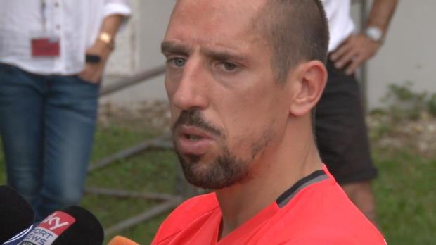 """Ribery: BVB? """"Wir haben auch gute Mannschaft"""""""