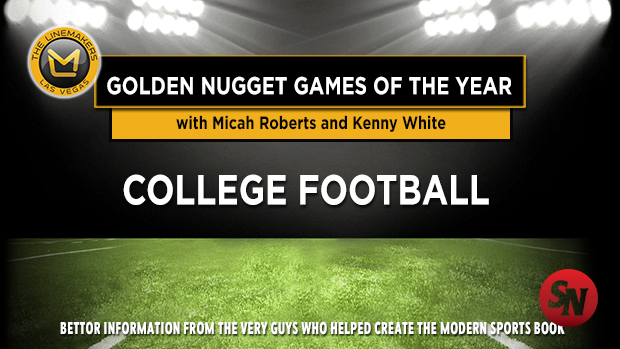 College Football Golden Nugget Games of the Year