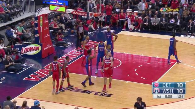 WSC: Bradley Beal 25 points vs the Pistons