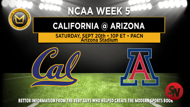 California Golden Bears @ Arizona Wildcats