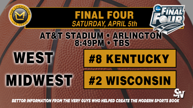 Final Four:  Kentucky vs. Wisconsin