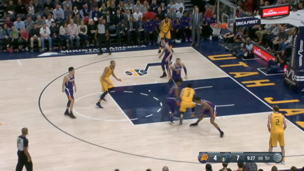 GAME RECAP: Jazz 116, Suns 88