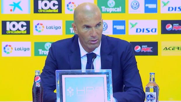 """Zidane vor Dortmund: """"Ronaldo brauchte Pause"""""""