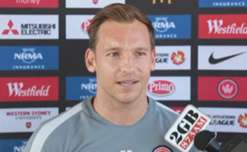 Wanderers striker Brendon Santalab is hoping he's given the chance to lead the line against the Sky Blues on Saturday.