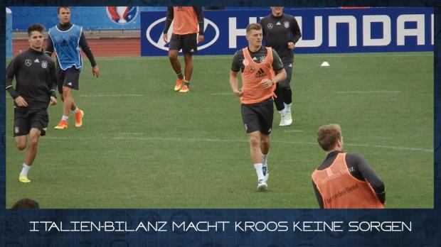 EM in 60 Sekunden: Kroos vs. Italien-Bilanz