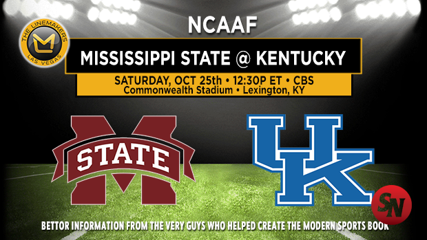 Mississippi State Bulldogs @ Kentucky Wildcats
