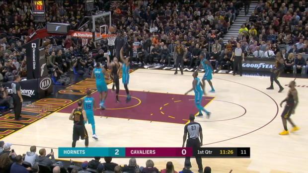 GAME RECAP: Cavaliers 100, Hornets 99