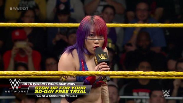 Asuka vs. Priscilla Zuniga: WWE NXT, March 22, 2017