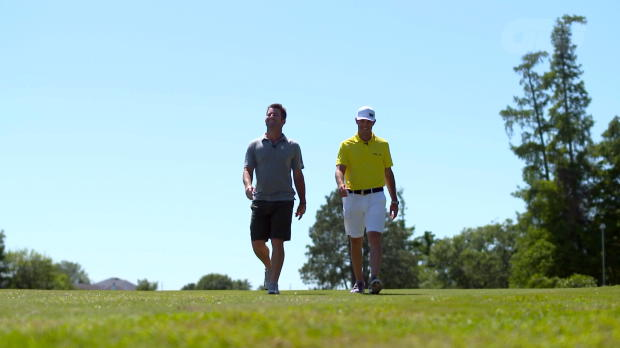 Footgolf with PGA TOUR stars Matt Every and Billy Horschel