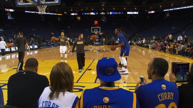 Basket : NBA - Curry et les Warriors sont chauds pour Memphis