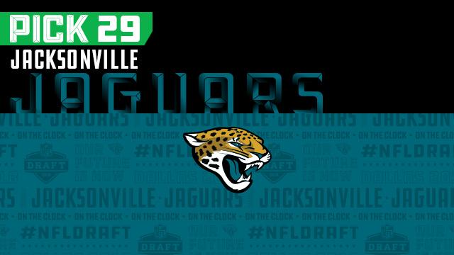Jacksonville Jaguars pick No. 29 | NFL Mock Draft Live