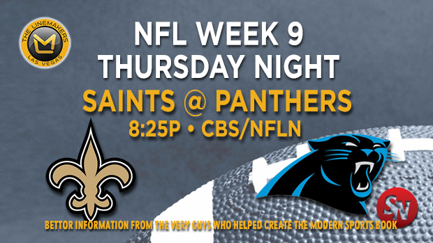 New Orleans Saints @ Carolina Panthers