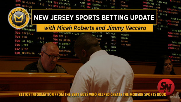 New Jersey Sports Betting Update
