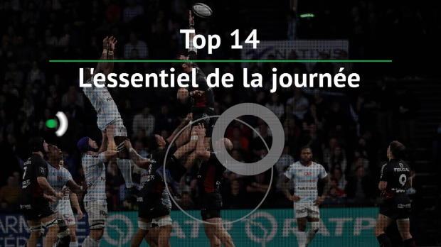 Top 14 - 13e j. : L'essentiel de la journée