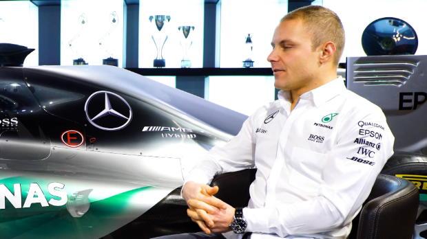 "F1: Bottas: Mercedes? ""Tolles Team hinter mir"""