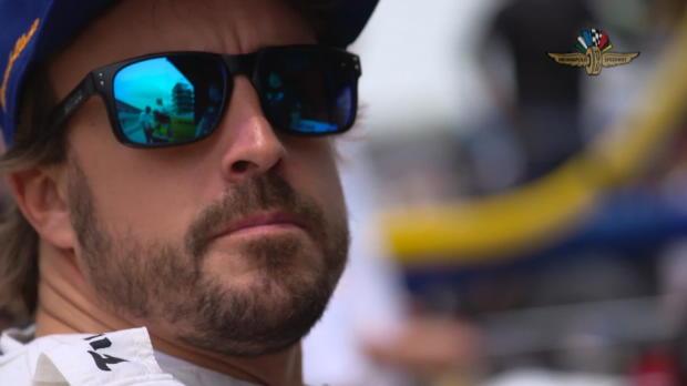 500 millas de Indianápolis - Fernando Alonso, entre los mejores pese al viento