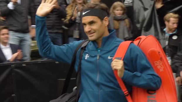 Stuttgart: Spiel gedreht! Federer besiegt Zverev