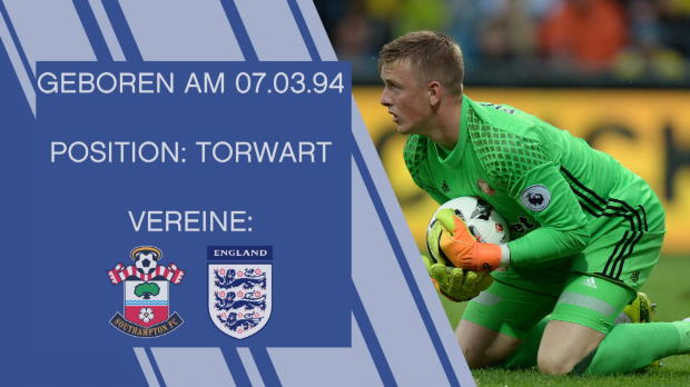 Jordan Pickford: Englands Torwart-Hoffnung