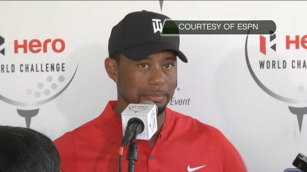 GOLF: PGA Tour: Woods thankful for player support