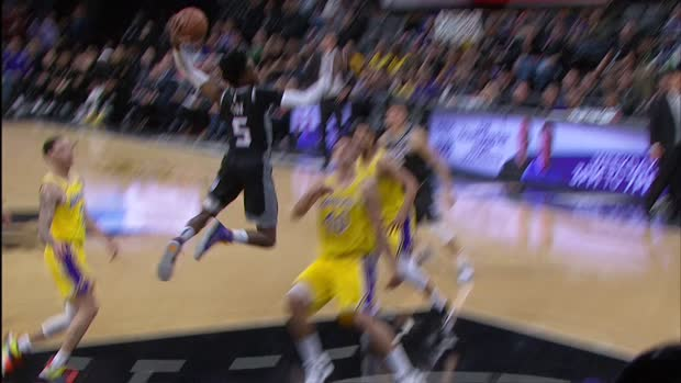 Dunk of the Night: De'Aaron Fox