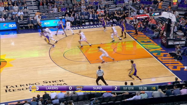 GAME RECAP: Suns 137, Lakers 101