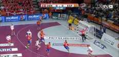Handball : Danemark 24-25 Espagne