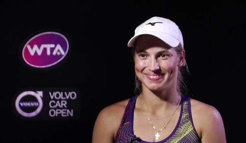 Putintseva Interview: WTA Charleston 3R