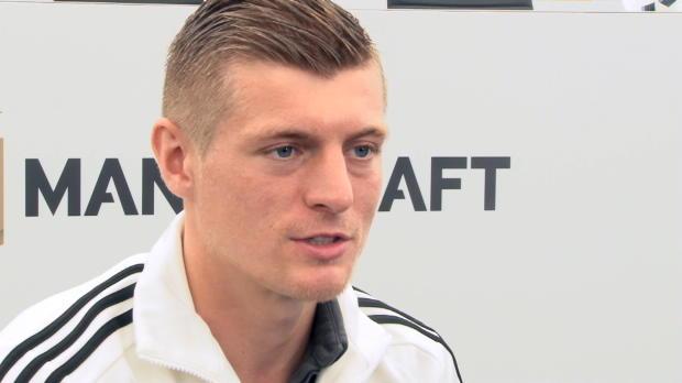 """Kroos: """"Nichts anderes möglich als feiern"""""""