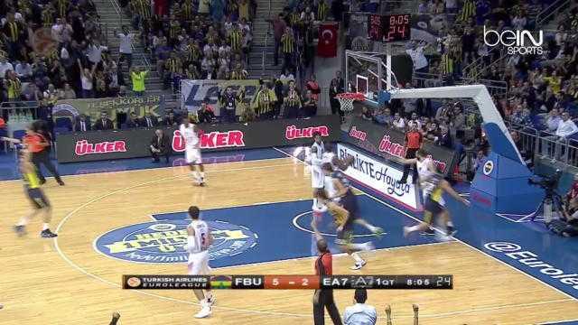 EL : Fenerbahçe 77-74 Milan