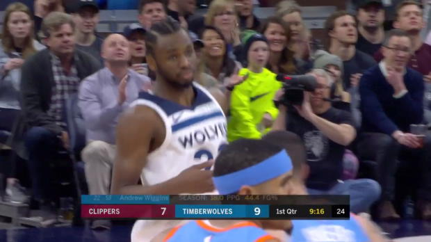 WSC: Andrew Wiggins 27 points vs the Clippers