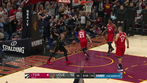 WSC: LeBron James (38 points) Highlights vs. Toronto Raptors, 05/05/2018