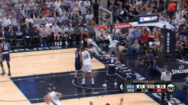 Assist of the Night: Tony Parker