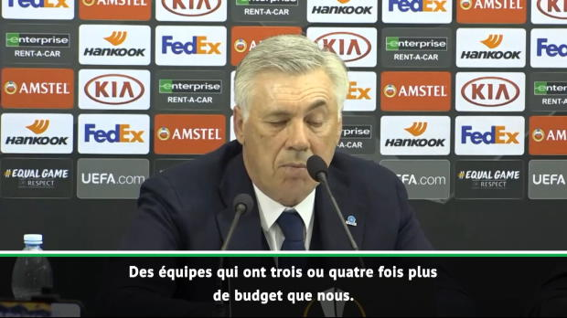 Quarts - Ancelotti - 'On a rivalisé avec des équipes qui ont trois ou quatre fois notre budget'