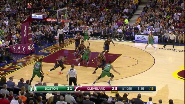 WSC: LeBron James scores 30 points in loss to the Celtics