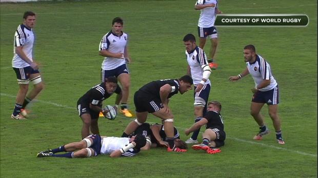 CdM U20 - La France lamin�e par les Baby Blacks