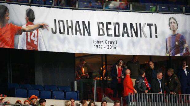 """Deschamps: """"Cruyff hat diesen Tribut verdient"""""""