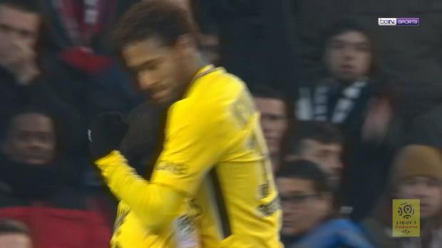 Mbappe tanzt Abwehr aus, Neymar vollstreckt