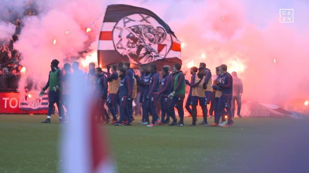 De Klassieker: Ajax-Fans sind heiß aufs Spiel