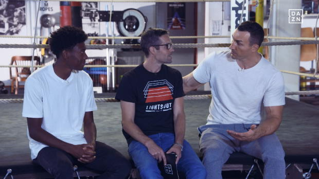 Boxen: School of Klitschko: Training mit Alaba