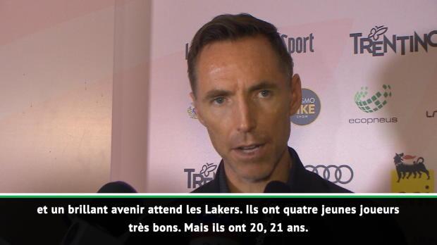 """Basket : Lakers - Nash - """"LeBron va permettre à Los Angeles de retrouver son niveau"""""""