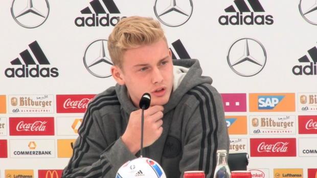 """EM 2016: Brandt: """"Kindheitstraum in Erfüllung"""""""