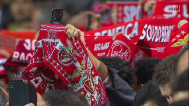 UEFA Champions League: Benfica - Ajax Amsterdam   DAZN Highlights