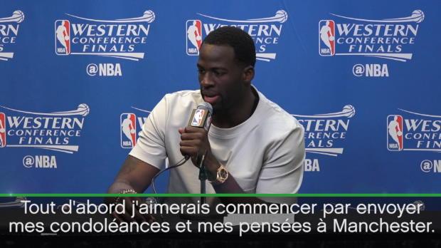 """Basket : NBA - Attentat Manchester - D. Green - """"Je leur envoie mes condoléances"""""""