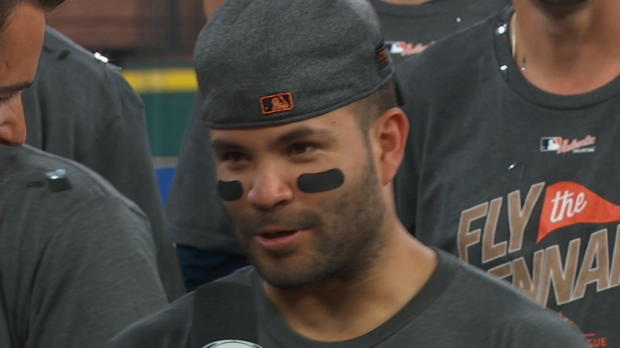 Altuve on World Series berth